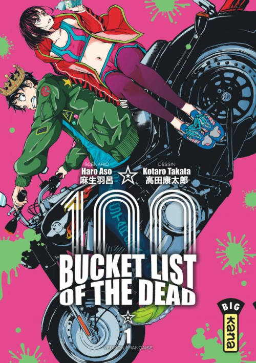 Couverture Bucket list of the dead, tome 1