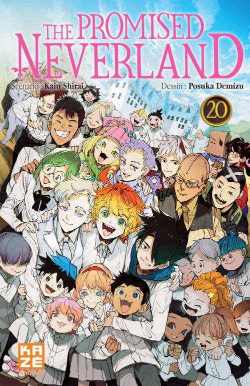 Couverture The Promised Neverland, tome 20