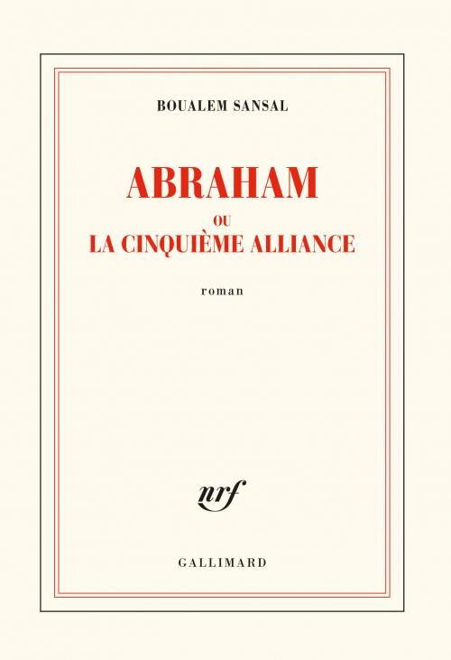 Couverture Abraham ou la cinquième alliance