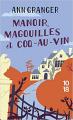 Couverture Manoir, magouilles et coq-au-vin Editions 10/18 2021