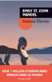 Couverture Station eleven Editions Rivages 2016