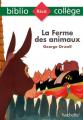 Couverture La ferme des animaux Editions Hachette (Biblio collège) 2021