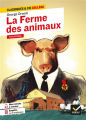 Couverture La ferme des animaux Editions Hatier (Classiques & cie - Collège) 2021
