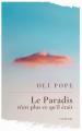 Couverture Le paradis n'est plus ce qu'il était Editions Autoédité 2021