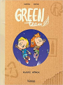 Couverture Green Team, tome 2 : Plastic Attack Editions Kennes 2021