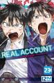 Couverture Real account, tome 23 Editions Kurokawa (Shônen) 2021