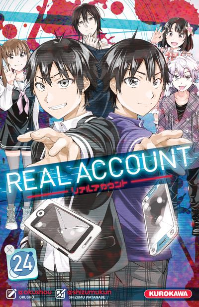 Couverture Real account, tome 24