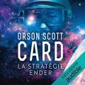 Couverture Le cycle d'Ender, tome 1 : La stratégie Ender Editions Audible studios 2019