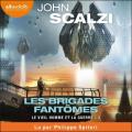 Couverture Le vieil homme et la guerre, tome 2 : Les brigades fantômes Editions Audiolib 2021
