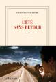Couverture L'Été sans retour Editions Gallimard  (Blanche) 2021