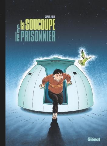 Couverture La soucoupe et le prisonnier
