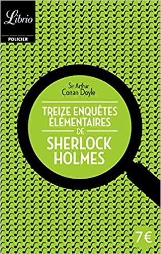 Couverture Treize enquêtes élémentaires de Sherlock Holmes