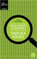 Couverture Treize enquêtes élémentaires de Sherlock Holmes Editions Librio (Policier) 2009