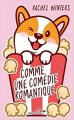 Couverture Comme une comédie romantique  Editions Hauteville 2021
