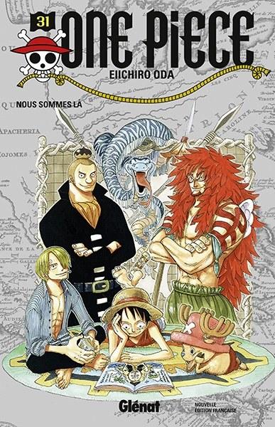 Couverture One Piece, tome 031 : Je suis là