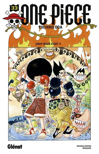 Couverture One Piece, tome 033 : Davy back fight !!