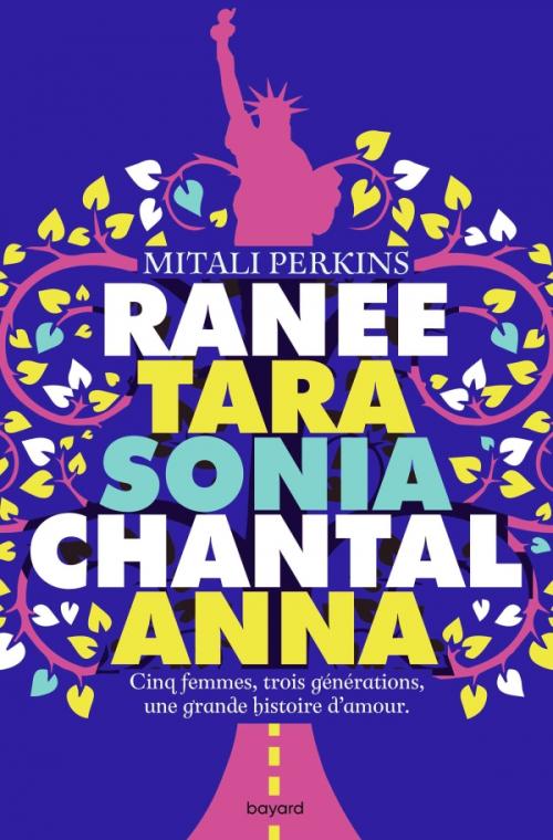 Couverture Ranee Tara Sonia Chantal Anna