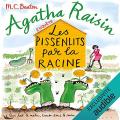 Couverture Agatha Raisin enquête, tome 27 : Les pissenlits par la racine Editions Audible studios 2021