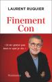 Couverture Finement Con Editions Flammarion 2021