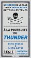 Couverture A la poursuite du Thunder Editions Actes Sud 2021