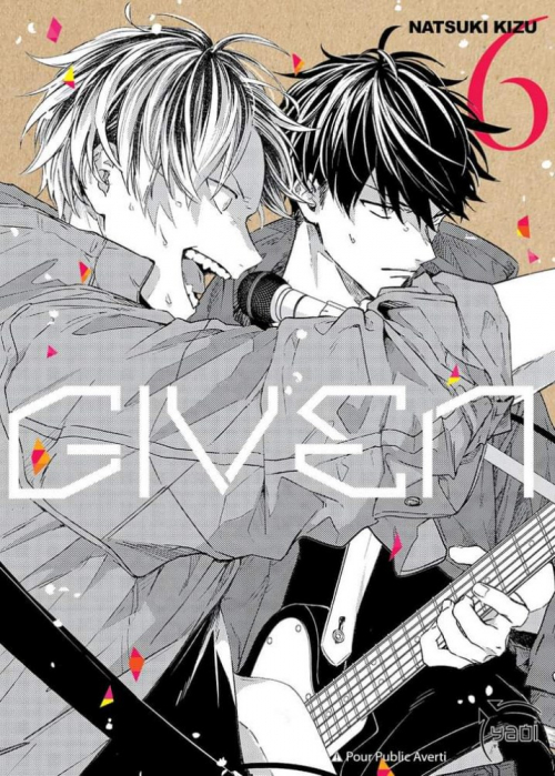 Couverture Given, tome 6
