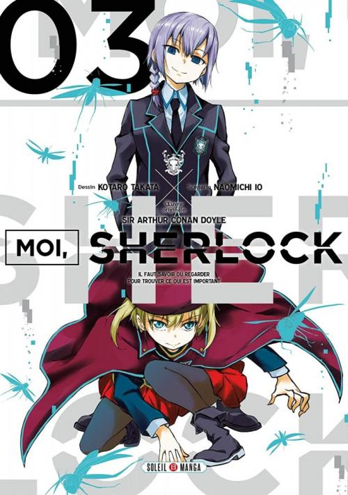 Couverture Moi, Sherlock, tome 3