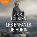 Couverture Les enfants de Húrin Editions Audiolib 2021