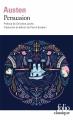 Couverture Persuasion Editions Folio  (Classique) 2011