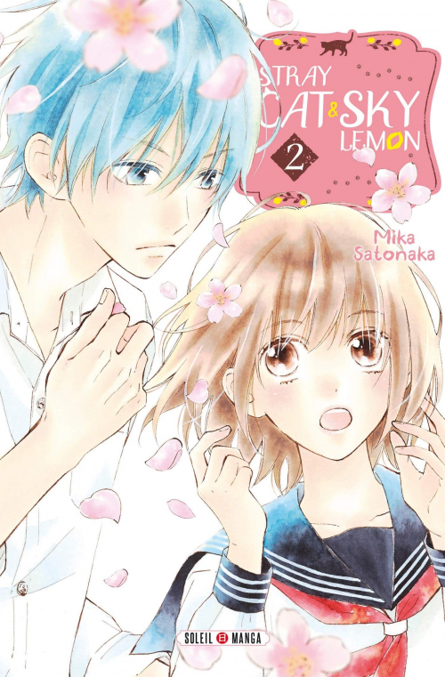 Couverture Stray cat and sky lemon, tome 2