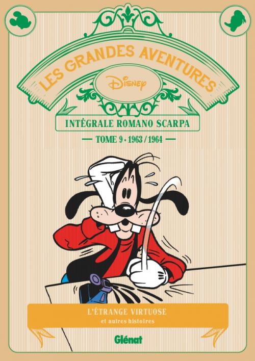 Couverture Les grandes aventures de Romano Scarpa, tome 09 : 1963-1964