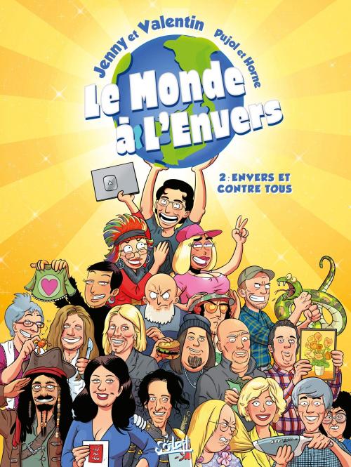 Couverture Le Monde à l'Envers, tome 2 : Envers et contre tous !