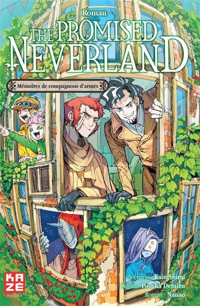 Couverture The Promised Neverland (roman) : Mémoires de compagnons d'armes