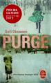 Couverture Purge Editions Le Livre de Poche 2010
