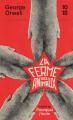 Couverture La ferme des animaux Editions 10/18 2021