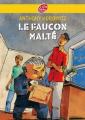 Couverture Les frères Diamant, tome 1 : Le faucon malté Editions Le Livre de Poche (Jeunesse - Policier) 2009