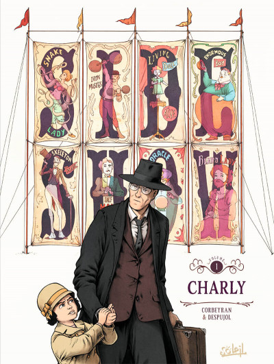 Couverture Sideshow, tome 1 : Charly
