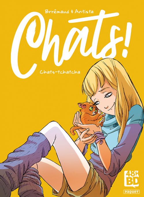 Couverture Chats !, tome 1 : Chats-tchatcha