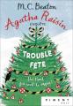 Couverture Agatha Raisin enquête, tome 21 : Trouble fête Editions France Loisirs (Piment - Noir) 2021