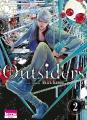 Couverture Outsiders, tome 2 Editions Ki-oon (Shôjo) 2021