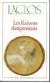 Couverture Les Liaisons dangereuses Editions Flammarion (GF) 1981