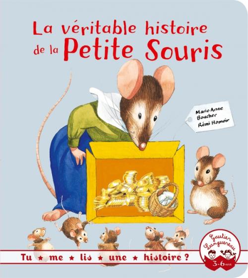 Couverture La véritable histoire de la petite souris