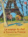 Couverture Le voyage du chat à travers la France Editions Gallimard  (Jeunesse - L'heure des histoires) 2021
