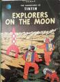 Couverture Les aventures de Tintin, tome 17 : On a marché sur la lune Editions Methuen 1988