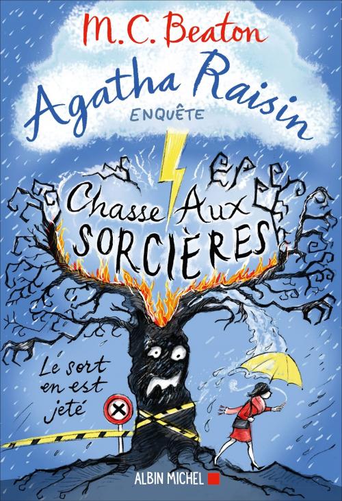 Couverture Agatha Raisin enquête, tome 28 : Chasse aux sorcières