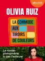 Couverture La commode aux tiroirs de couleurs Editions Audiolib 2021
