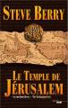 Couverture Le Temple de Jérusalem Editions Cherche Midi 2020