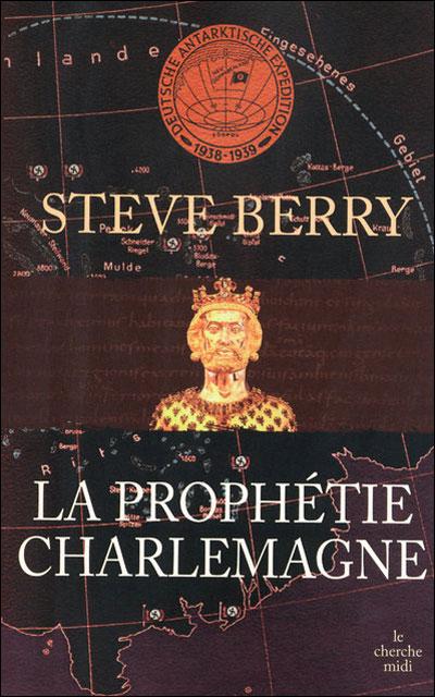 Couverture Cotton Malone, tome 04 : La prophétie Charlemagne