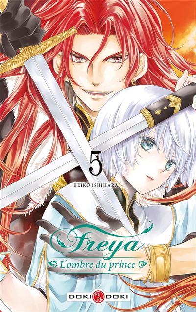 Couverture Freya : L'ombre du prince, tome 5