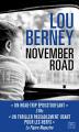 Couverture November Road Editions HarperCollins (Noir) 2019