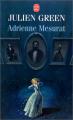 Couverture Adrienne Mesurat Editions Le Livre de Poche 1996